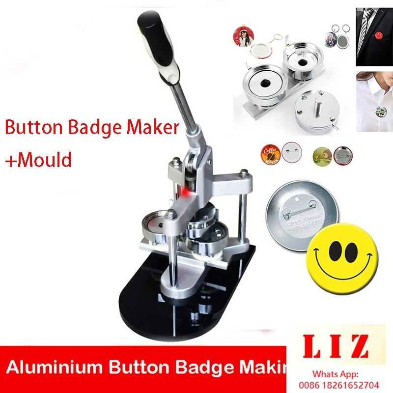 삼각형 버튼 메이커 배지 펀치 버튼을 만드는 배지 버튼 25mm / 32mm / 37mm / 44mm / 50mm / 56mm / 58mm / 75mm