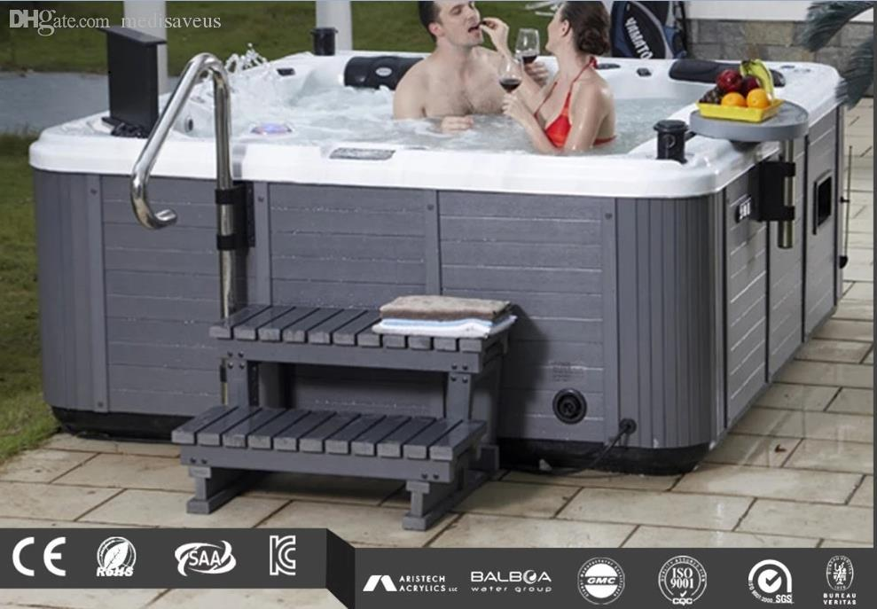 5 persons 88 pcs jets jetted bathtub clawfoot tub shower bath fixtures outdoor hot tub massage electric SPA Hydro whirlpool