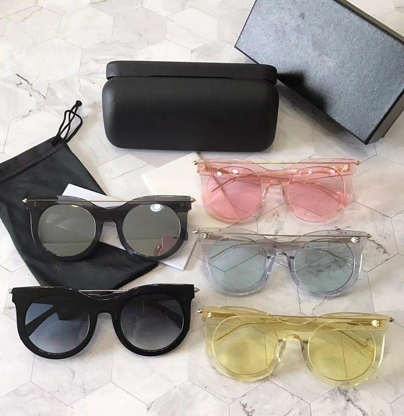 جديد أعلى جودة AM0001 رجل نظارات الرجال نظارات الشمس النساء النظارات الشمسية نمط الأزياء يحمي عيون gafas دي سول مولات دي soulil مع مربع
