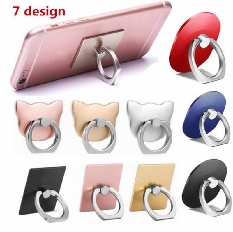 Универсальный сотовый телефон кольцо пальца держатель 360 градусов мобильного телефона GRIP стенд ленивая пряжка для iPhone 12 Mini 11 Pro X XS MAX кронштейн смартфона