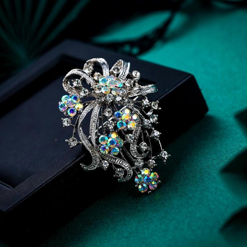 Цветок Брошь Pin для женщин Broche Femme партия ювелирных изделий Кристмас Tuliper Новое прибытие