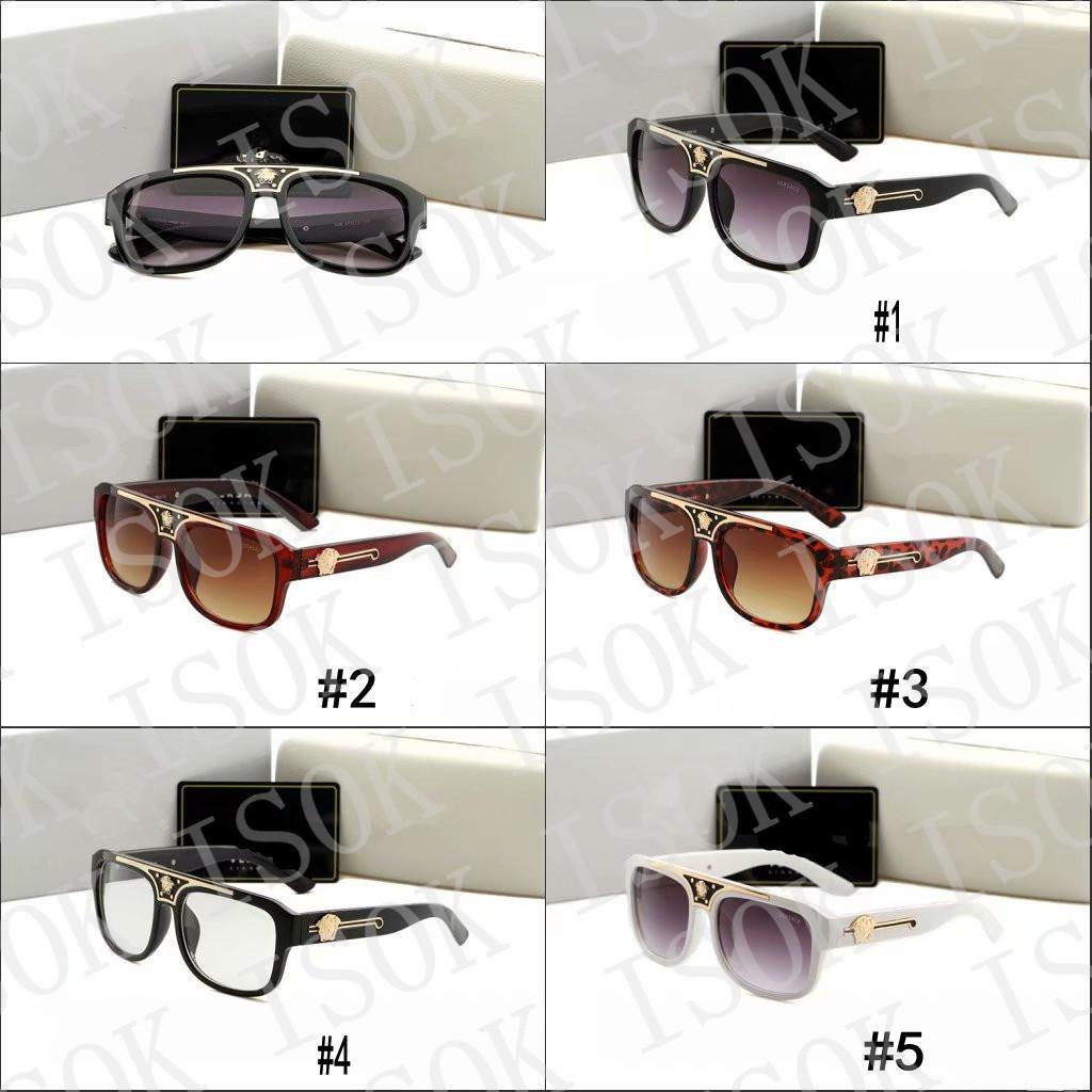 10 unids, 426 moda gafas de sol polarizadas de la moda marco grande Hombres diseñador de la marca Shades Accesorios para gafas Conducción Gafas de sol Italia Estilo