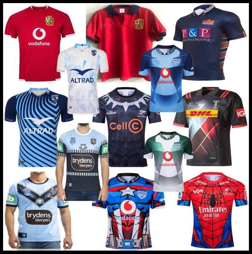 2020 2021 britânicos e camisa Lions Irish EDIMBURGO HOLDEN BLUES RUGBY JERSEY MONTPELLIER Black Shark Rugby Harlequins BULLS SUPER JERSEYS