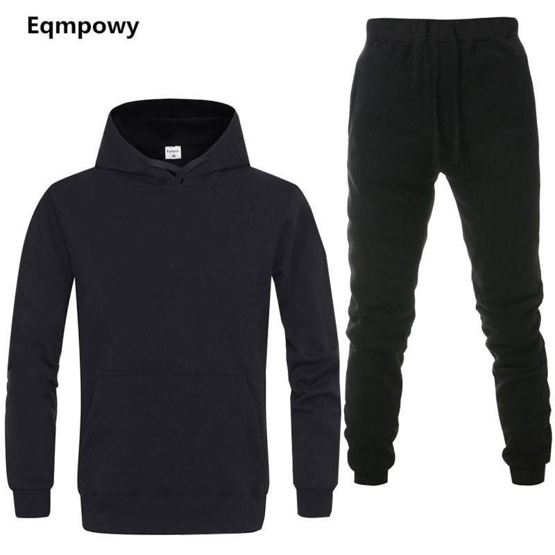 Tracksuit da uomo 2 set di nuova giacca di moda abbigliamento sportivo sportswear pantaloni da uomo in primavera e autunno marca con cappuccio