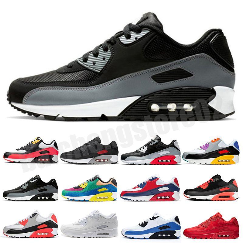 Großhandel Top Qualität Männer und Frauen 90 Laufschuhe Ultra Sneaker Kissen Original Herren Sportschuhe 36-45 B7326