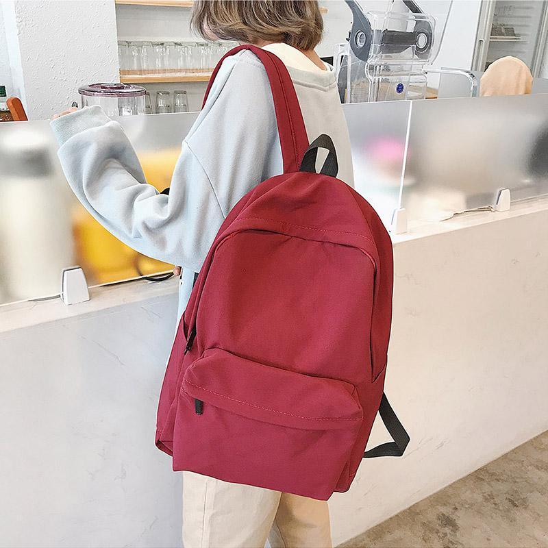 Schule rucksack tasche zurück student koreanische schule wqlop nqcxu reise bagpack 2020 pack mädchen rucksack frauen damen freizeit für mode wom voar