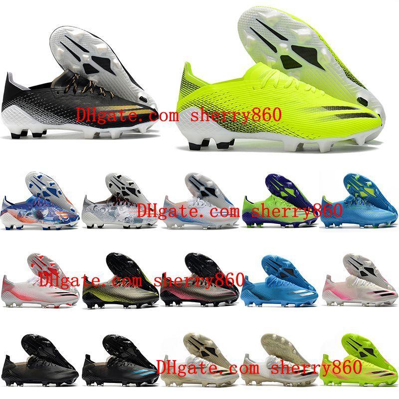 2021 نوعية أحذية رجالي كرة القدم x ghosted .1 fg ag المرابط في الهواء الطلق أحذية كرة القدم scarpe