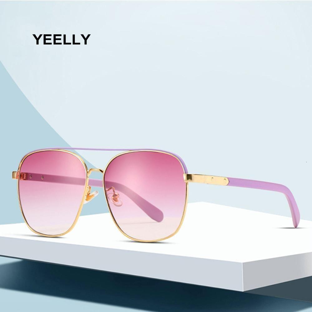 Neue Persönlichkeit Farbe Damen Sonnenbrille Großhandel Mode Wild Trend Gläser Quadratische Rahmen Mann Outdoor Anti-Blend Brille 58059