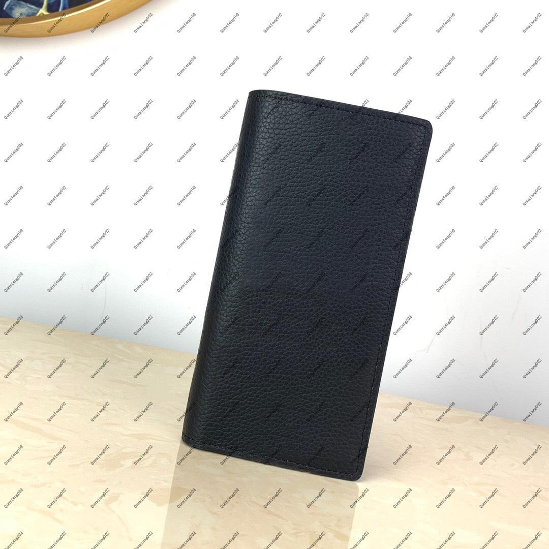 Véritable portefeuille de portefeuille Mens Porte-monnaie, titulaire de carte, porte-passeport, portefeuille de luxe design, produit de vente chaude, fret gratuit 007