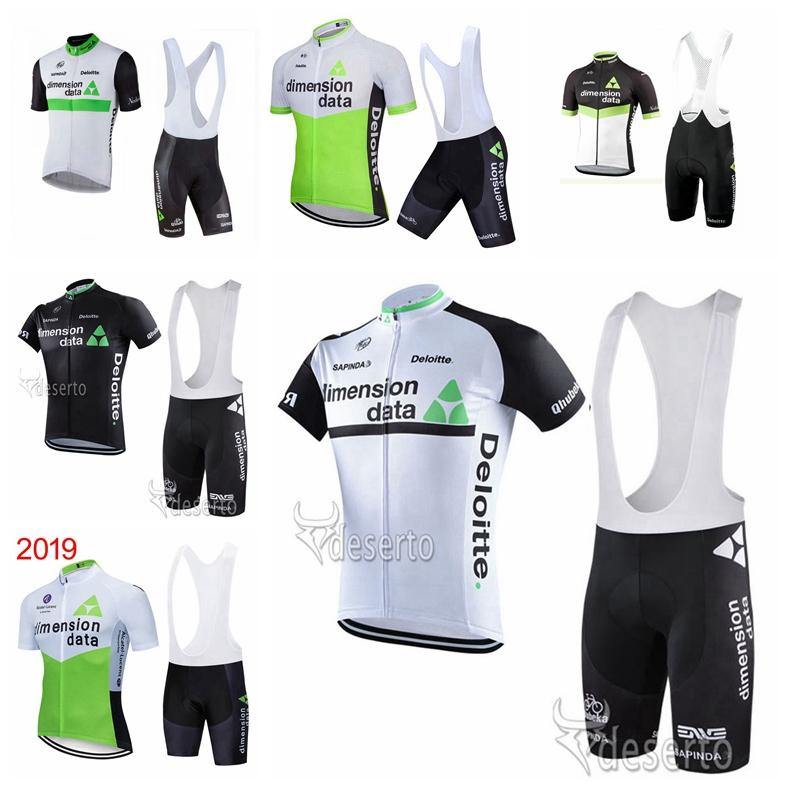 DIMENSION DATA team Pro Cycling Short Sleeves jersey bib shorts sets bicycle clothing MTB Racing clothing Mountain bike Ropa Ciclismo 102312