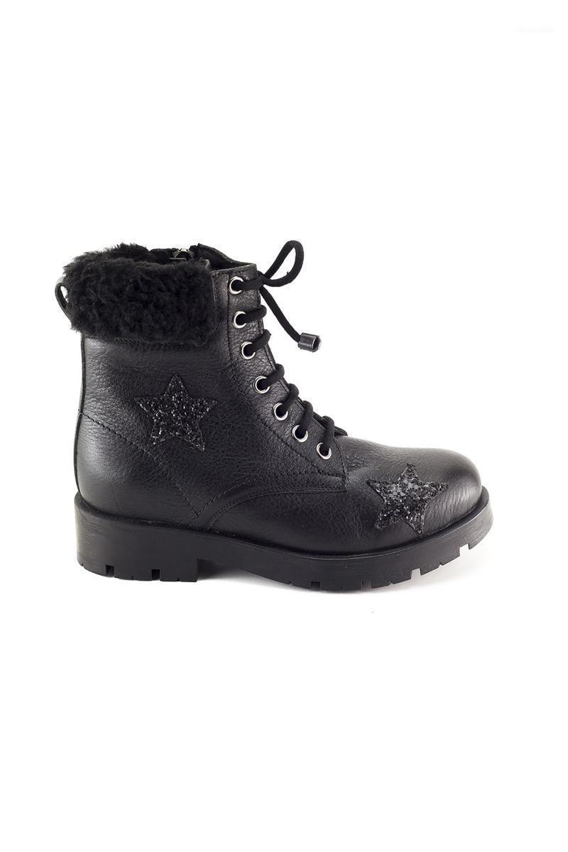 Ragazza Boot ortopedico in pelle nera, taglia 31-35, vera pelle, stivali da ragazze, stivali invernali per ragazze1