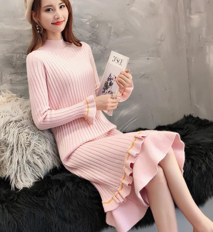 2021 primavera e autunno inverno con nuovo stile moda manica lunga manica lunga maglione cappotto @ 202