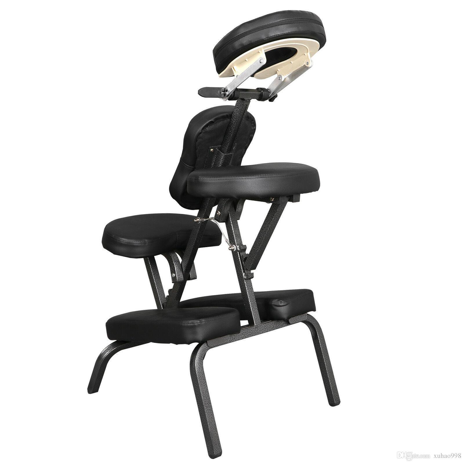 NOUVEAU POISSON PU PORTANT PU PU PU PULTURE DE VOYAGE DE VOYAGE TOUTOO SPA SPA Chaise de massage Noir Très bien