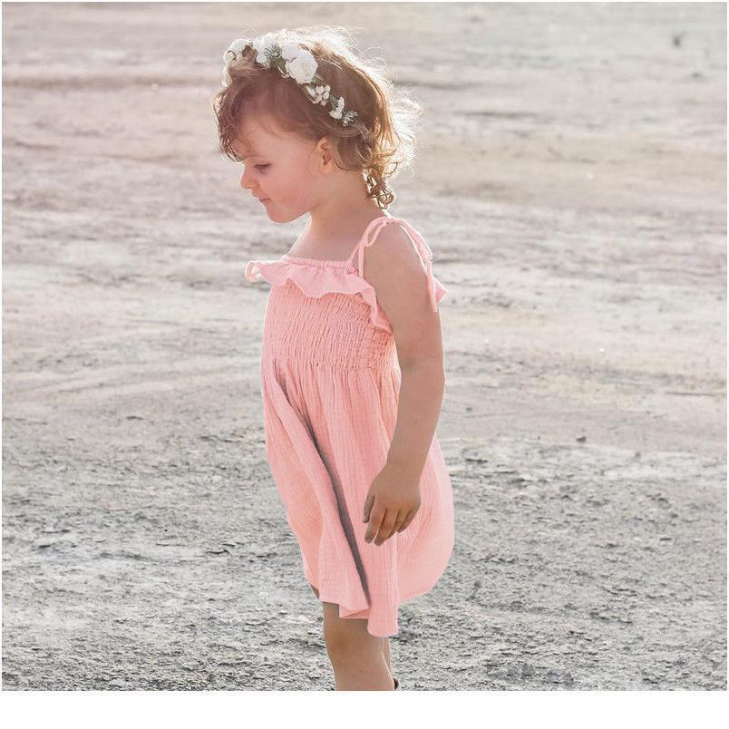 Pudcoco Toddler Infant Kids Baby Girls Dress Summer Dress Princess Party Wedding Tutu Dresses Pudcoco sqcrwh