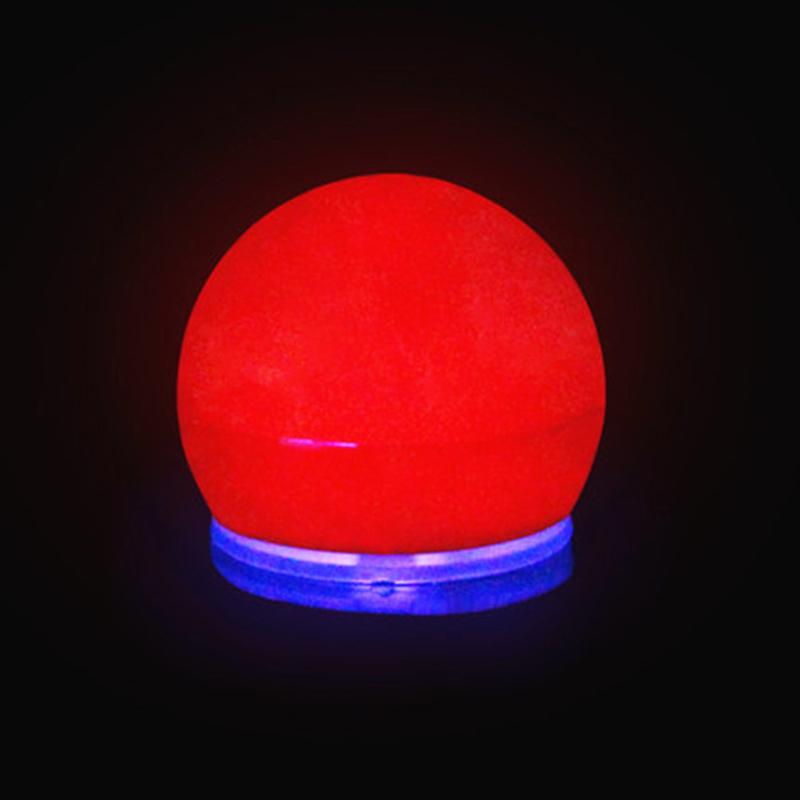 Leuchtet süße Clown Nase LED rote Nase Magische Nase für Halloween Party Cosplay Dekoration Zubehör