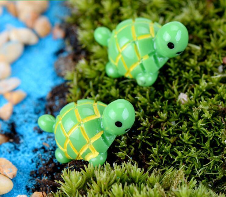 لطيف مصغرة السلاحف المشهد الحلي الراتنج حديقة ديكورات الجنية حديقة المنمنمات حديقة بونساي دمية ديكورات الراتنج الحرفية 8833