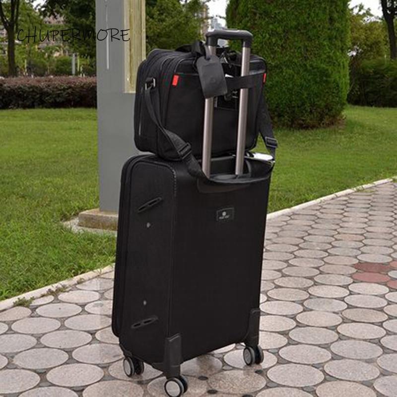 Chupermore Impermeabile Oxford Rolling Bagagli Set di Bagagli Spinner Uomo Business Suitcase Ruote da 30 pollici Borsa per laptop del carrello ad alta capacità LJ200928