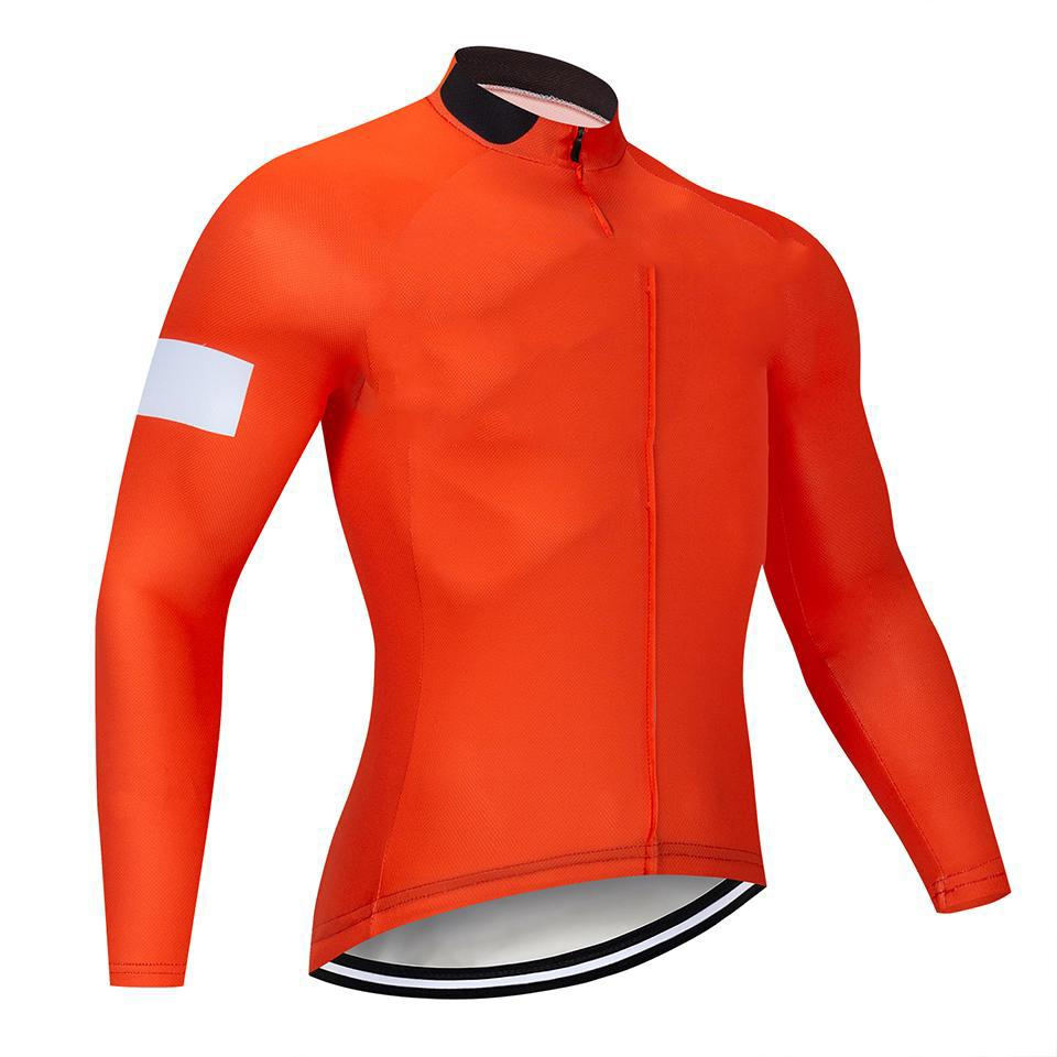 2020 Indossare in bicicletta New Blue Cycling Jersey Set MTB Bike Bici Bib Bib Pantaloni da Bib Traspirante Abbigliamento a maniche lunghe Ropa Ciclismo