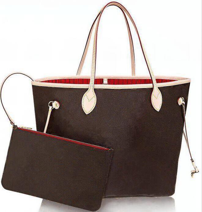 Cuero genuino de alta calidad Oxidato Nestulls Tahitienne Handbags Dos en uno Combinación Mujeres Totes Bolsas Bolsa de Hombro Compras Bolsa