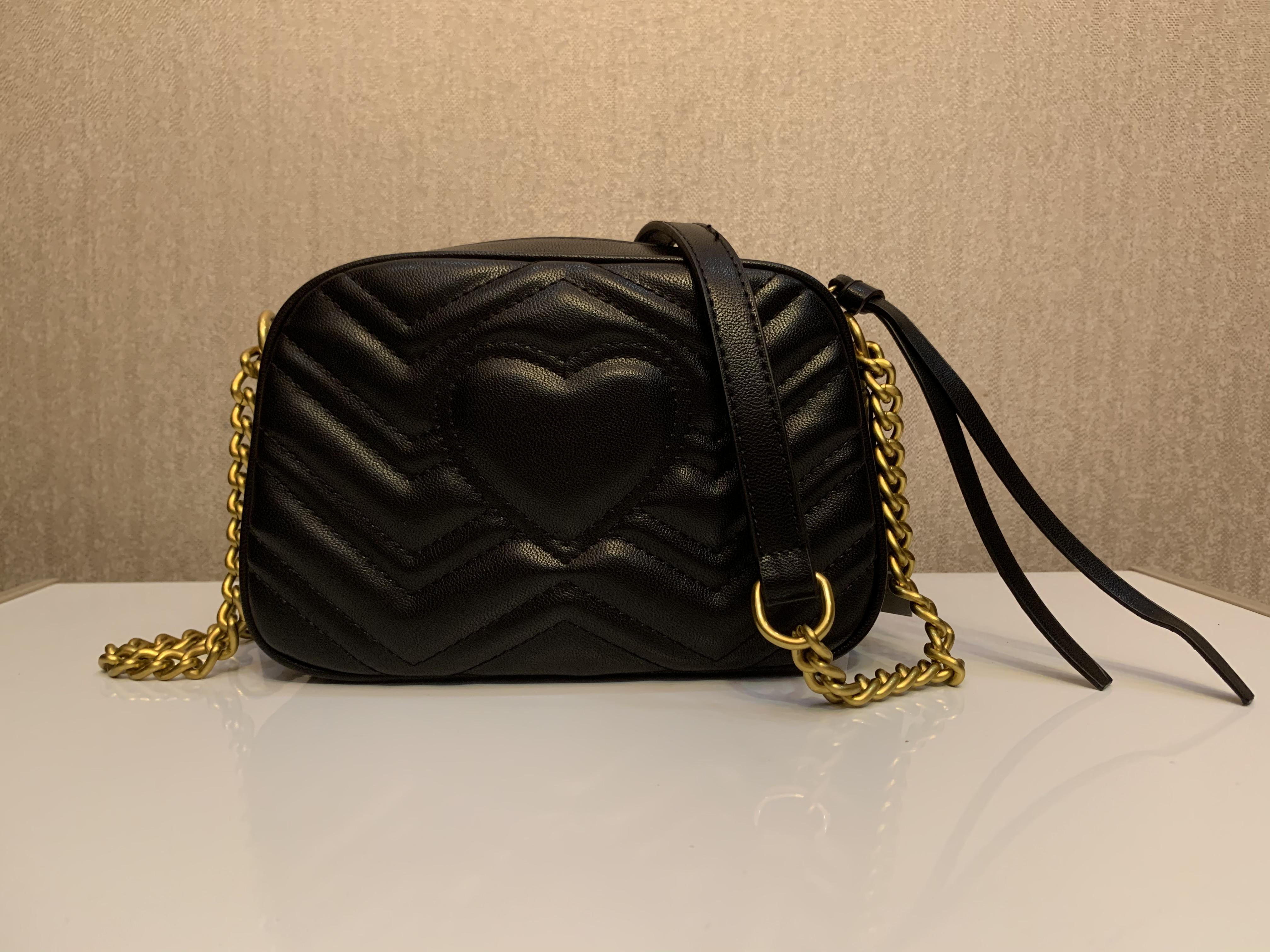 Bolsas de venda quente sacos sacolas de bolsas de ouro clássico de ouro saco de veludo saco de moda estilo de moda messenger bolsa de mão ombro mulheres 22cm bolsas nhfot