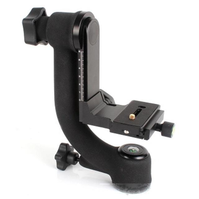 Têtes ripod New Bk-45 Panoramique 360 degrés vertical Pro Gimbal de trépied 1/4 pouces Vis pour Dslr Caméra Téléobjectif Quick Release Pl ...