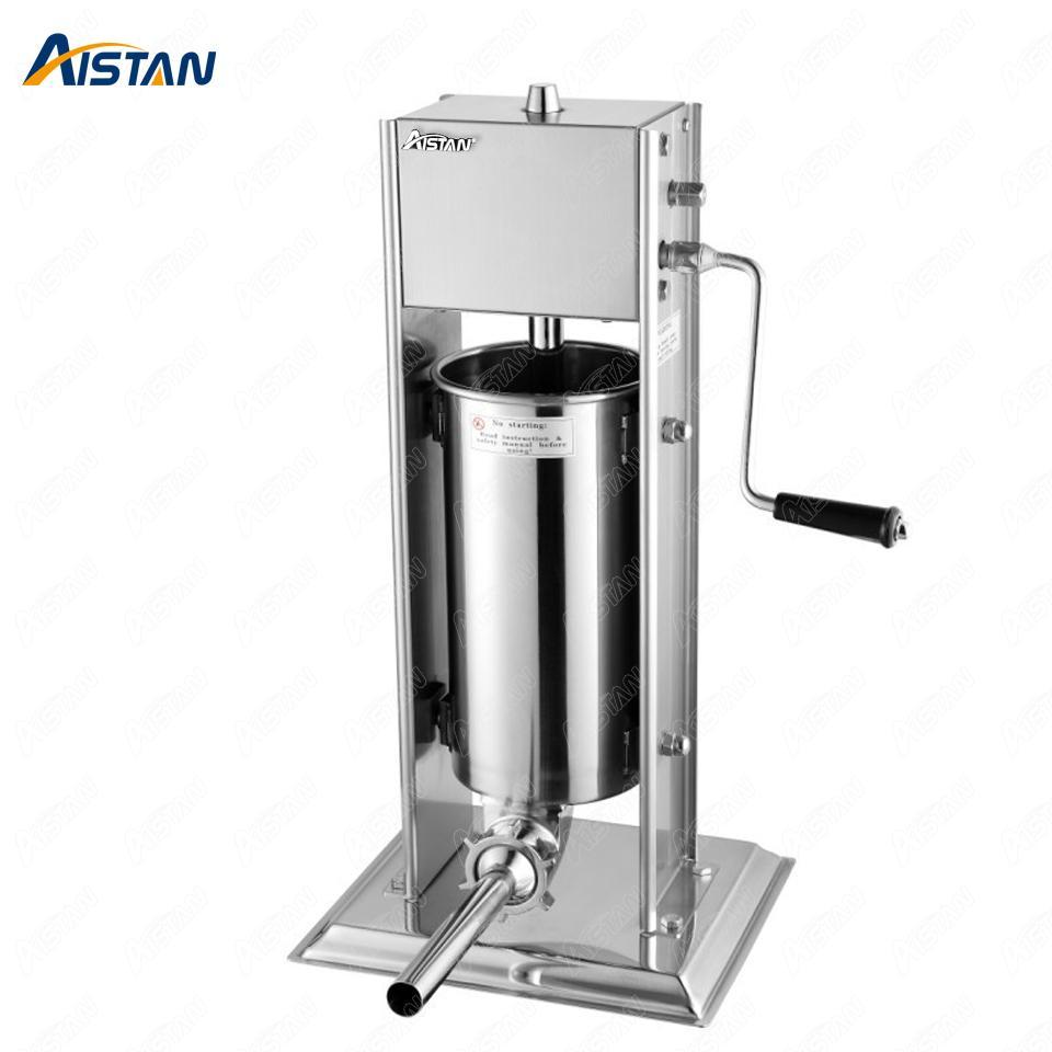 TV3L 3 5 7 10 15 Liter Manuelle Wurststufelmaschine Fleischfüllmaschine Wurstherstellung für den Lebensmittelprozessor Edelstahl gemacht