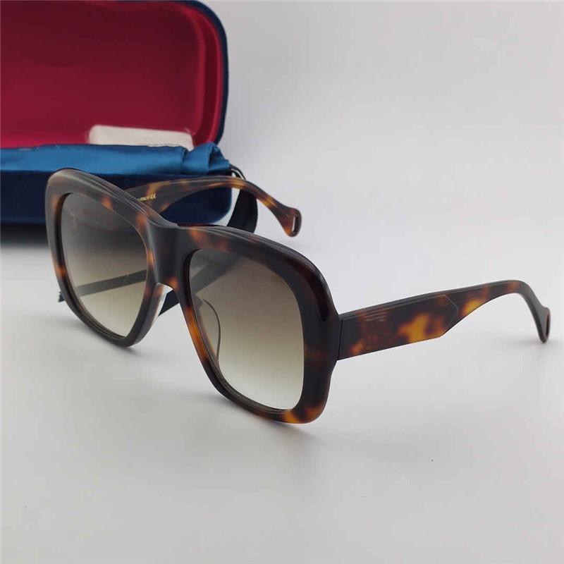 0498 New Fashion Sunglasses Ladies e Men Square Summer Style Plate Rettangolare Full frame Top Quality Protezione UV con coperchio protettivo