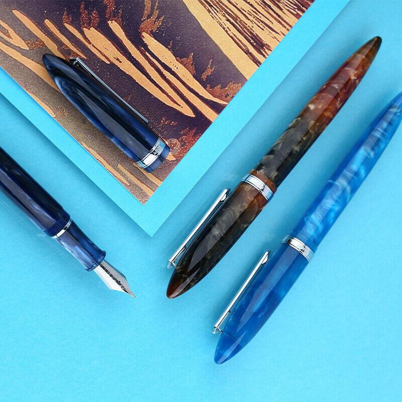 جديد penbbs 480 نافورة القلم محول القلم غرامة المنقار 0.5 ملليمتر الكتابة طالب مدرسة مكتب الحبر أقلام القرطاسية لوازم طالب هدية Y200709