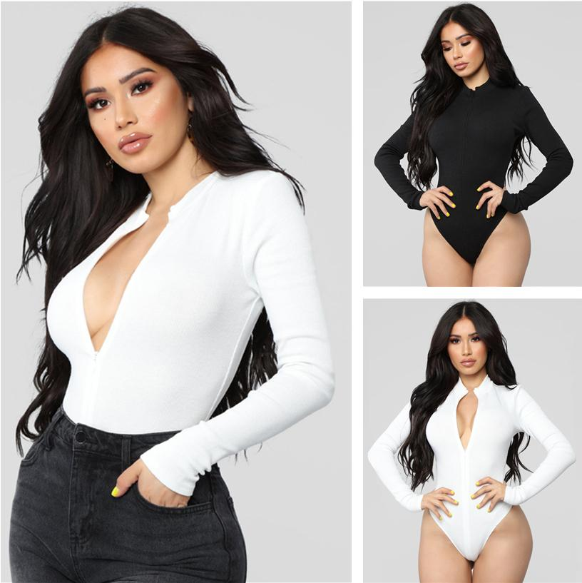 New Hot selling fashion Autumn And Winter women's clothing Active Wear Long Sleeve Jumpsuit Slim Solid color Sport Fitness Jumpsuit