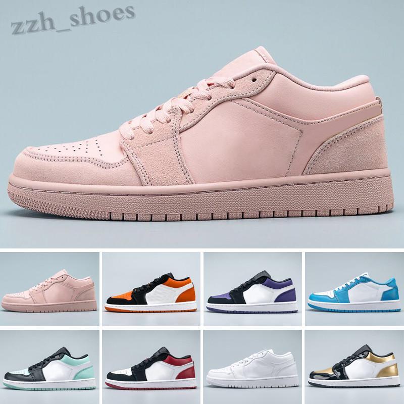 NIKE air Jordan 1 RETRO 2020 Ayakkabı Jumpman 1 1 S Yüksek OG Mahkemesi Toe Ayakkabı Siyah Mor Erkekler SP Travis Scotts Kadınlar EUR 36-46 PR07