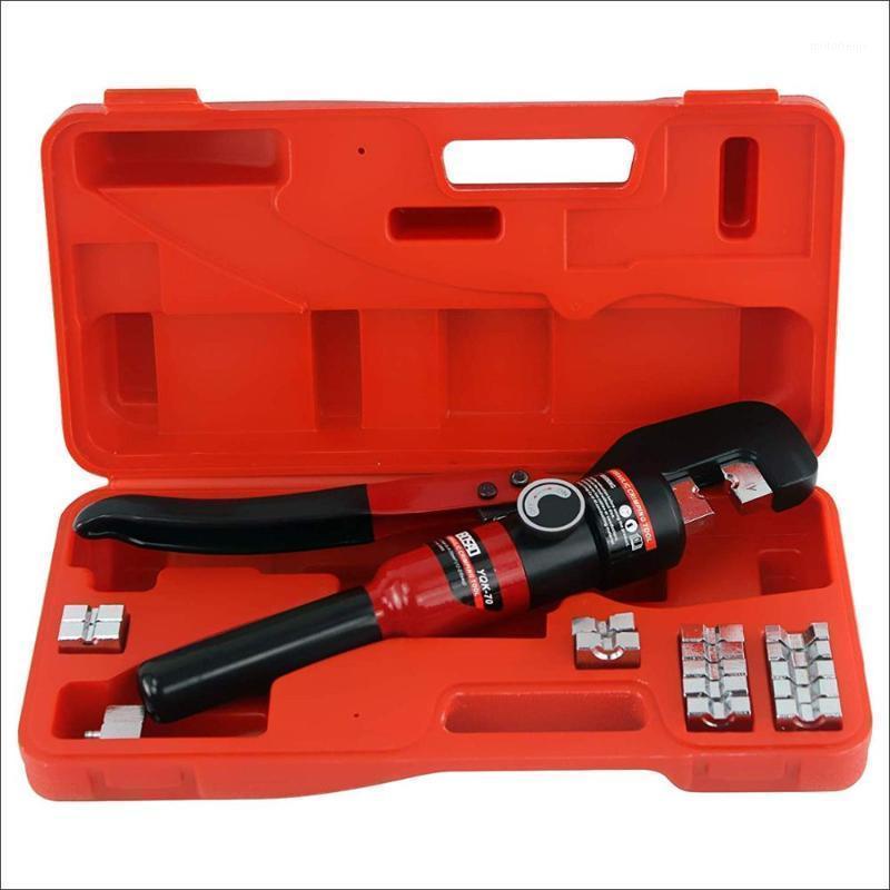 Hidrolik Sıkma Aracı Kablo Pabucu Crimper Pense Hidrolik Sıkıştırma Aracı YQK-70 4-70mm2 Basınç 5-6T1