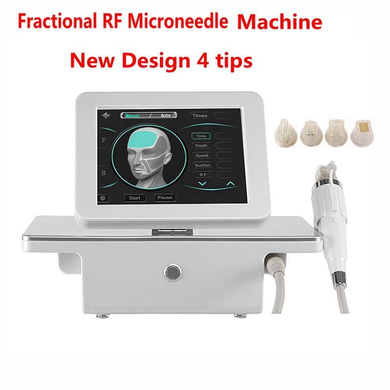 2021 تصميم جديد 4 نصائح آلة كسور micronedle كسور rf micronedle كسور rf العناية بالبشرة تجاعيد إزالة آلة جمال