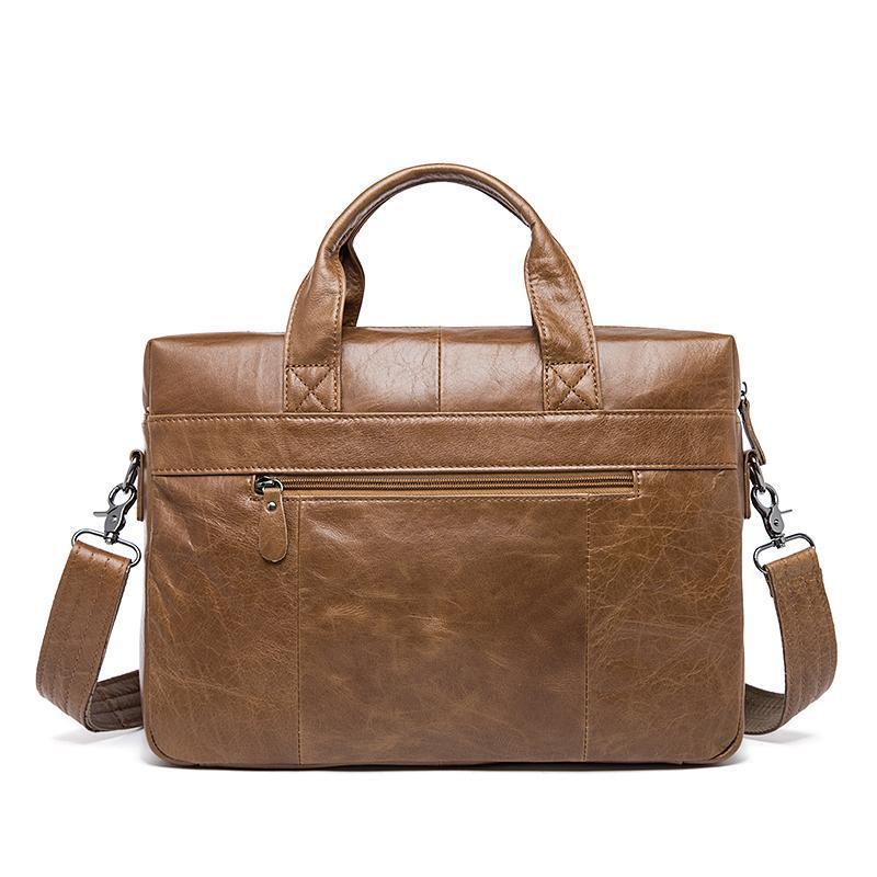 Borse da portatile Borsa business Briefcase da 14 pollici XVBOD Crossbody Desinger uomo in pelle MVA Borse 2021 New Style Bodhide Luxury Genuine PCunp