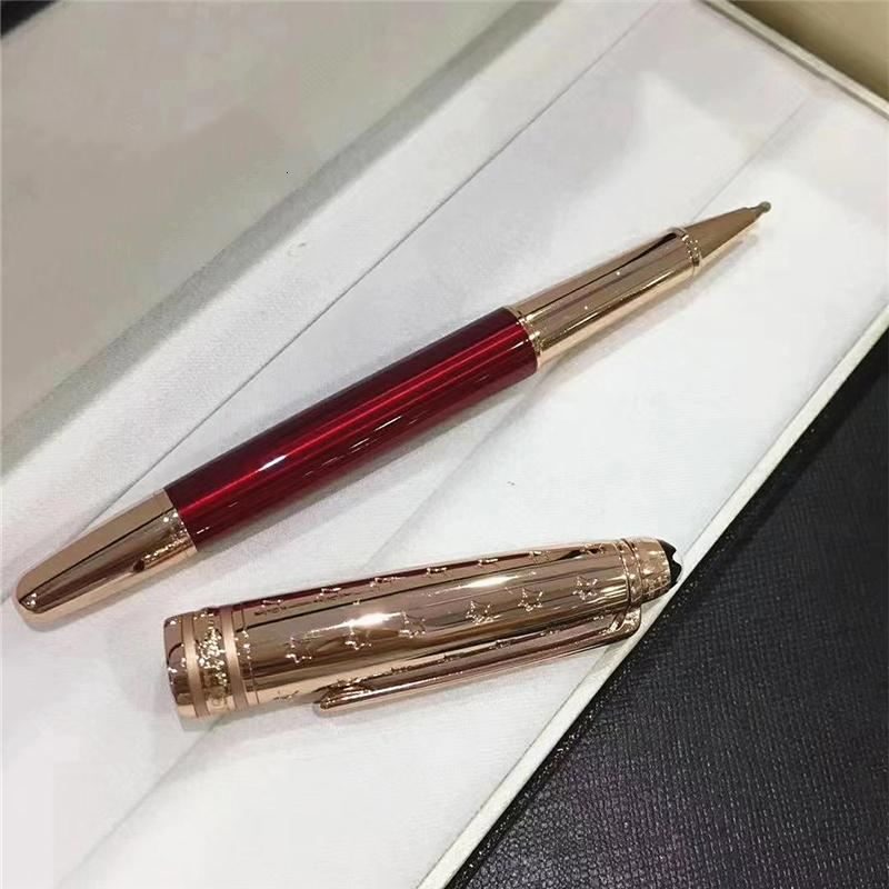 Маленькая серия металлические принца звезды оригинальные роликовые новые шариковые ручки шариковые ручки фонтан ручка офисные школьные принадлежности канцелярские подарочные ручки
