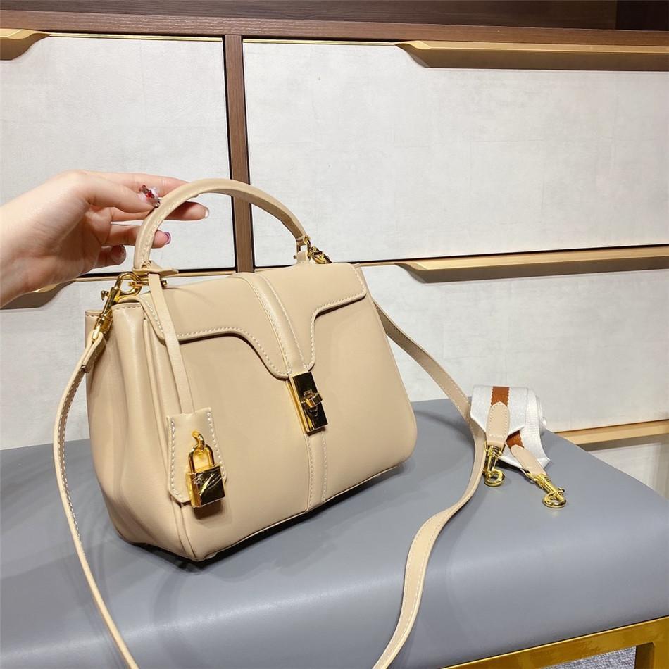 Sac à main à sacs à main de grande qualité pour femme de grande qualité, sac à main de grande qualité, sac à main en cuir incurvé de grande qualité avec bretelles amovibles