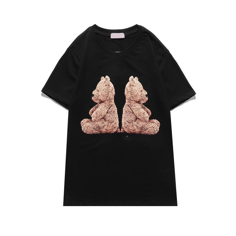 Nedensel Erkekler T-Shirt Moda Baskı Kısa Kollu O Boyun Kadın T Shirt Hip Hop Unisex Streetwear Çift Tişörtleri Kaliteli Ye82 #