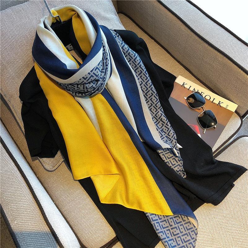 Шарфы, шарфы для женщин носить весной, осенью и зимой