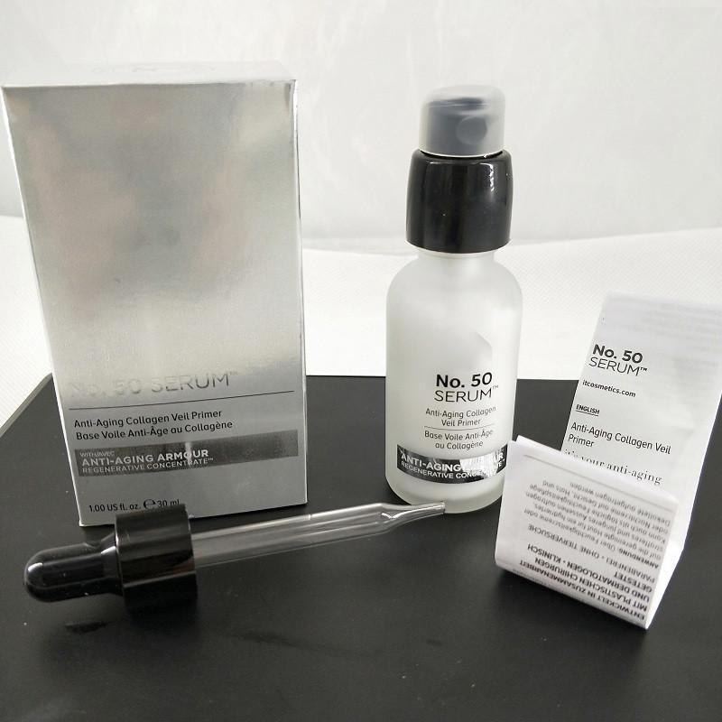 Top quality! No.50 SERUM Collagen Veil Primer Base Voile au Collagene Lotion Moisturizing 30ml DHL Free