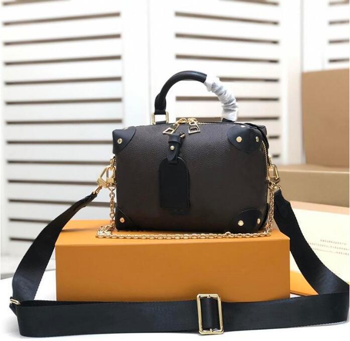 Correa M45531 M45571 Bolsas Hombro Bolso Bolso Malle Monederos Malles Souple Handbags Extractores Petite Bags Totes Moda WUXTC