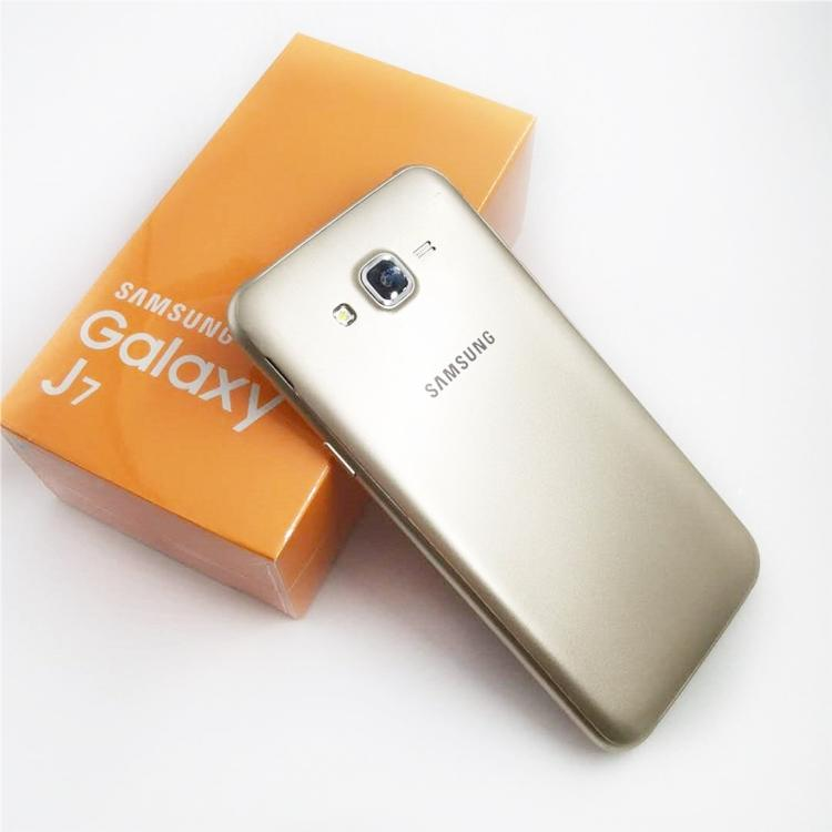 Remodelado Original Samsung Galaxy J7 J700F Dual SIM 5.5 polegadas Tela LCD Octa Core 1.5GB RAM 16GB ROM Desbloqueado telefone