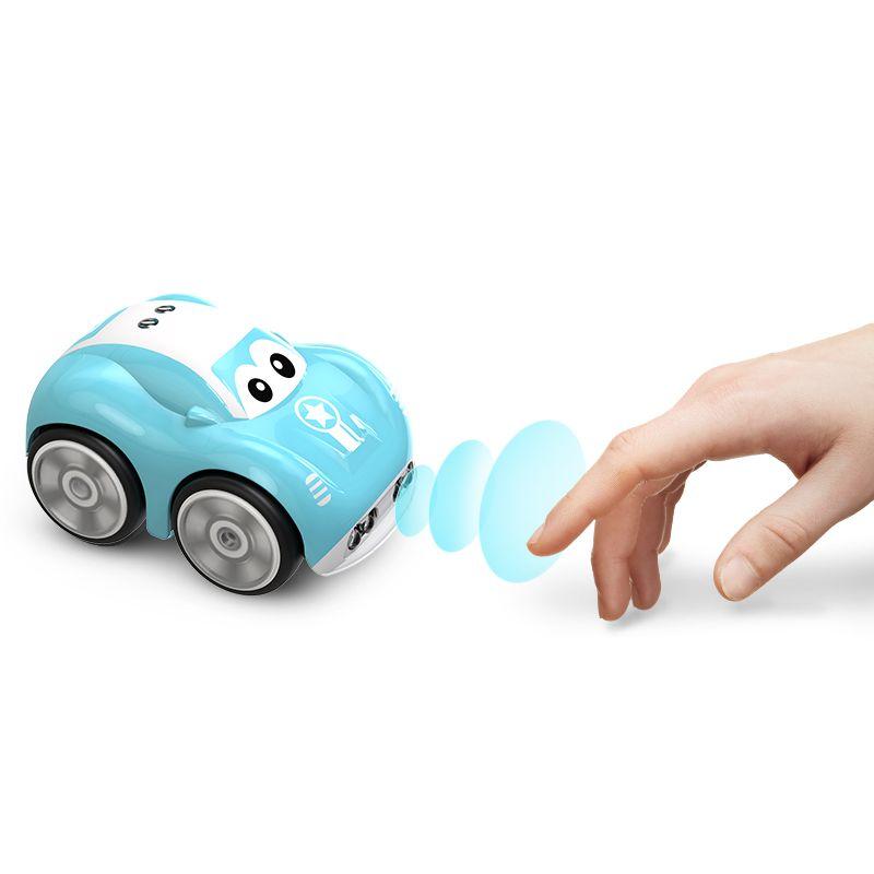 Мини милая автомобильная индуктивная игрушка для детей для детей Детей Электрический пульт дистанционного управления автомобиль 25mins AOTU Следуйте трекому PATH RACING RC CAR 201218