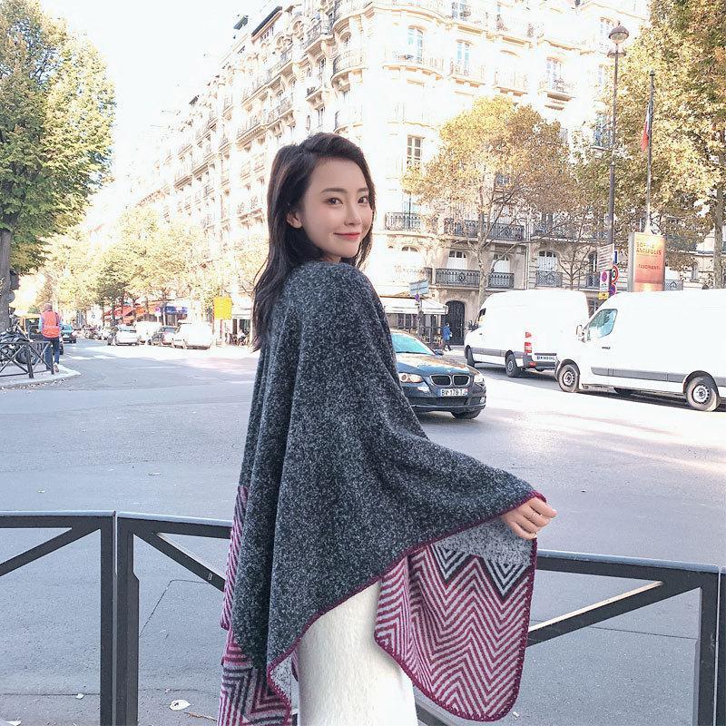 150x130cm longa viagem russa estilo retro lenços para senhoras lenços muçulmanos splicing cachecol xaile noite casaco capa all-match wrap