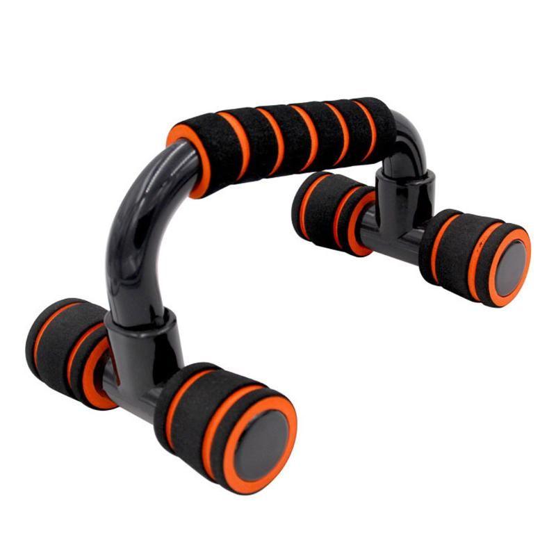Fitness Push Up Bar Bush-ups fica com apertos de espuma almofadados para treinamento de equipamentos de treinamento de peito de fitness