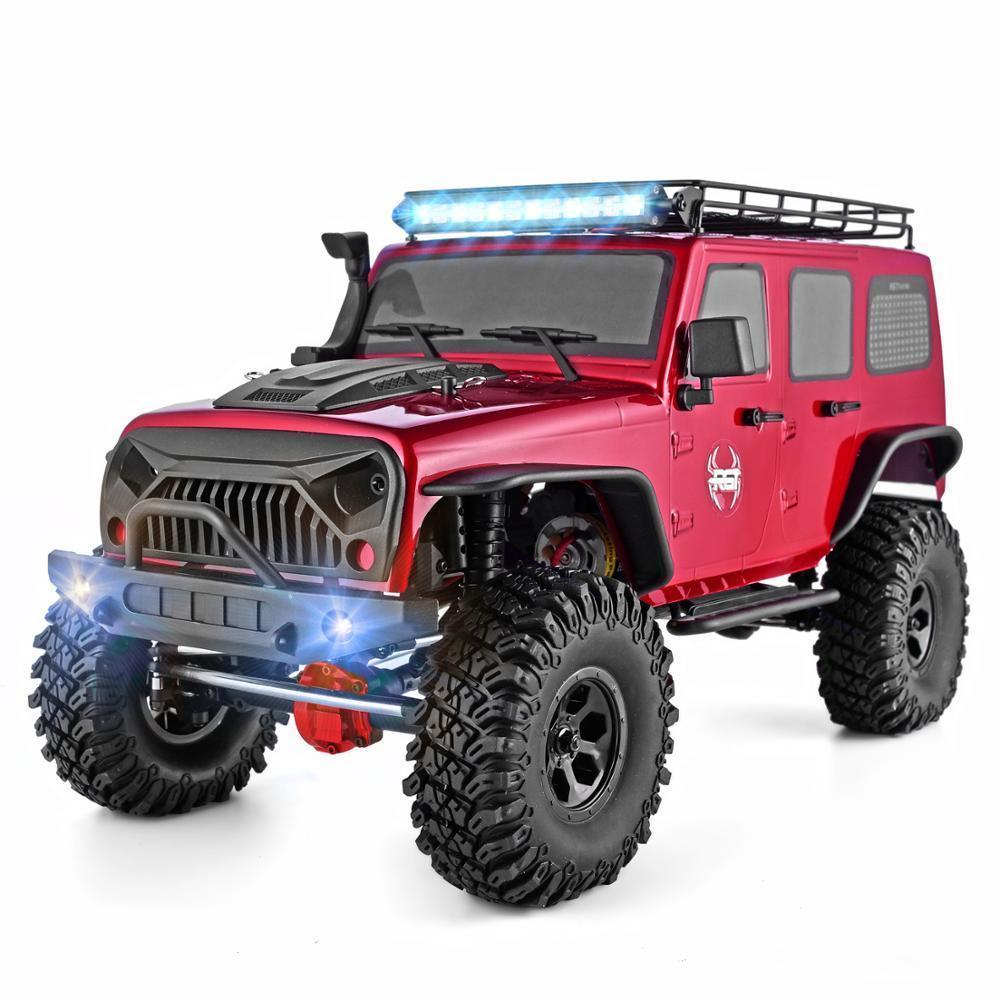 RGT 1:10 4wd Car Metal Gear Off Road Truck Rock Cruiser EX86100 Hobby Crawler RTR 4x4 Waterproof RC Toy 201105