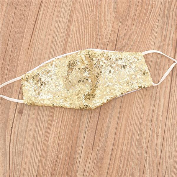 Color PM2.5 Bling Care Shield Scudo Goll Elbow Sequins Shiny Sun Fox Cover Anti-polvere Maschera bocca