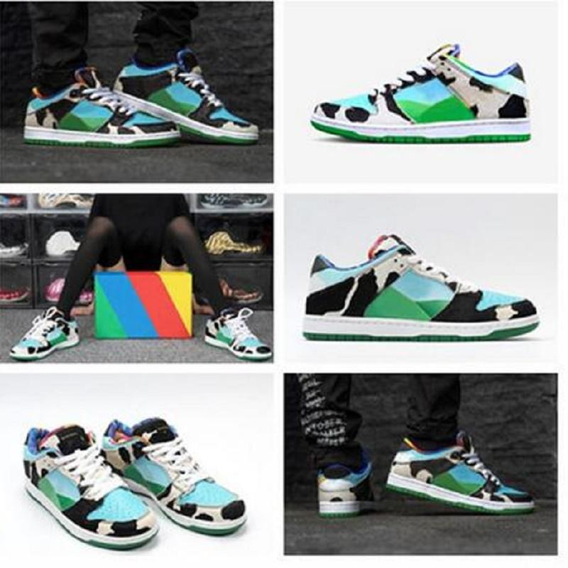 2021 Nuovo Dunky Authentic Men Shoes Shoes Green Diamond Sport Pallacanestro Skateboarding Trainer Sneakers Taglia 36-45