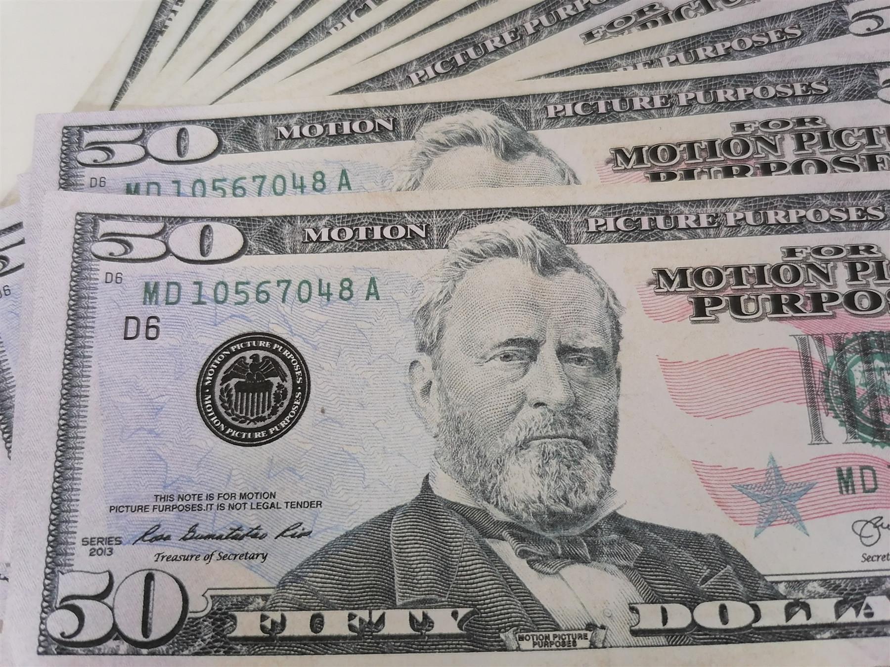Die neue 50 US-Dollar-Bar Bill