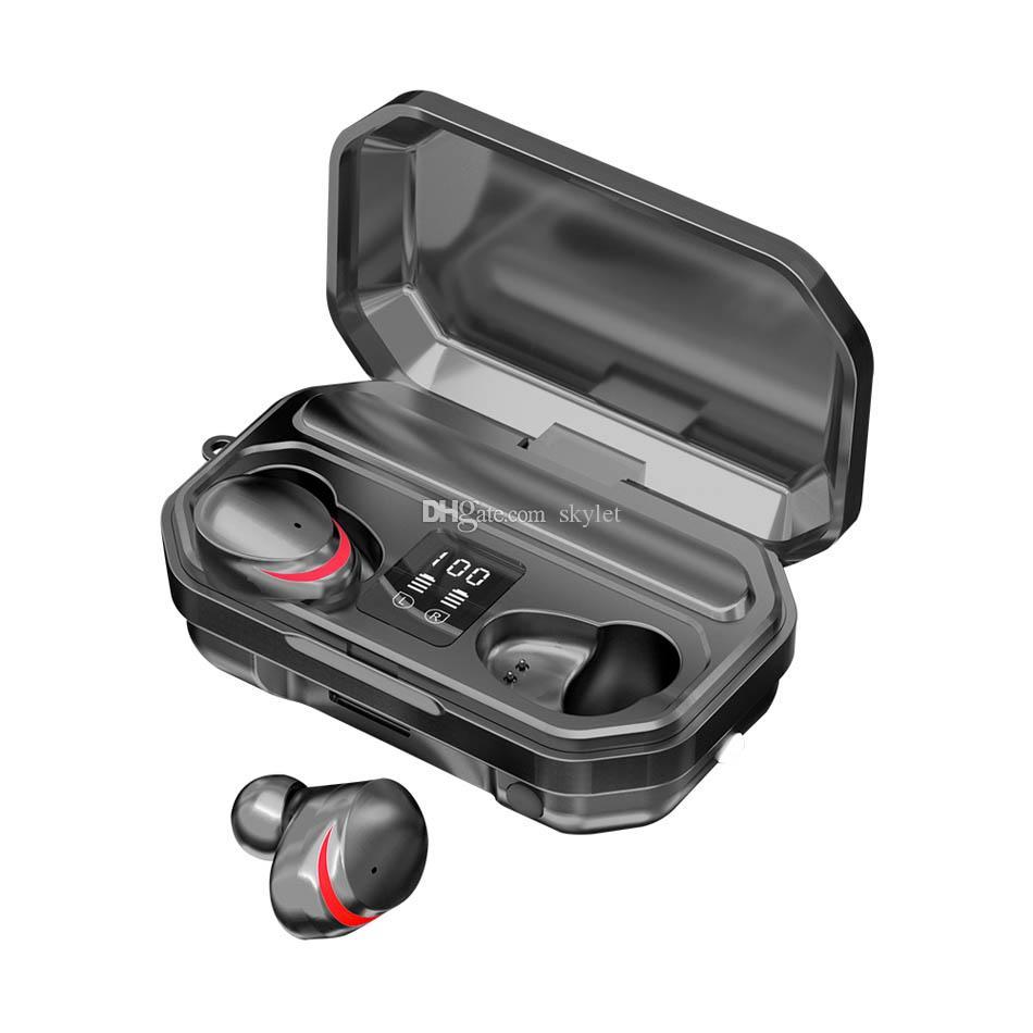 M15 Bluetooth Headphones Wireless Earphone Stereo Headset LED Display Bluetooth 5.0 Headset with Retail Box