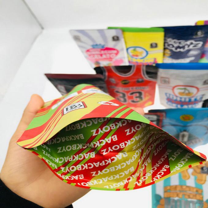 Bolsas 3.5g Embalaje Rund Bltz Cookies 420 Mylar Boyz Bolsas personalizadas A prueba de mochileros Paquetes de mochila de mylar Spell 710 33 New Bbyeu Insyard