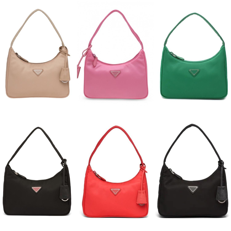 2021 Bolsos Tote Nylon 2000 Diseñador de calidad Bolsas de hombro Duffle High Cuero Cartera Famosa Reedición Lady Wallet Crossbody Bag Bag MVFR MVFR